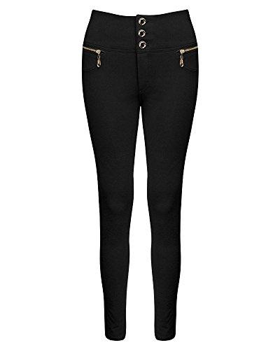 unique taille Jeans Noir SheLikes Femme t80TXWx