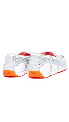 Grey Men's Orange Breeze SWIMS White Lace Loafers wPCfIqC