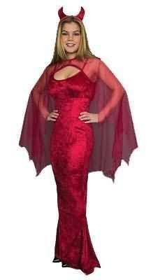 She Devils Costumes (Women Size X-Large (14-16) - She Devil Costume)
