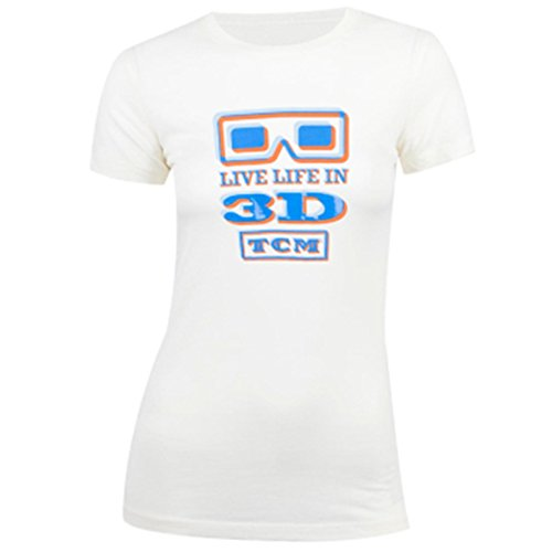 Classic Turner - Turner Classics Movies TCM Exclusive - Life In 3D Gel Women's Gel T-Shirt (Small)