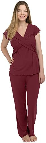 Kindred Bravely Davy Ultra Soft Maternity & Nursing Pajamas Sleepwear