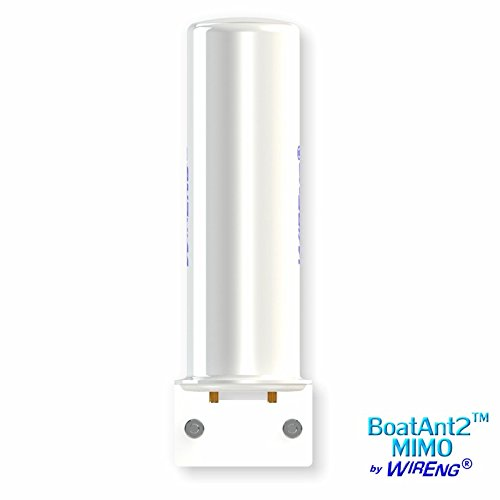 BoatAnt2-MIMO™ Dual Antenna for Sierra Wireless AirLink Raven XE Marine True MIMO Omni ±45° (BoatAnt™ 2 MIMO)