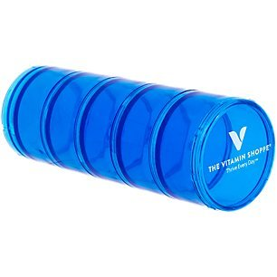 - Pill Case Stacker 1 Container by The Vitamin Shoppe