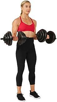 Sunny Health & Fitness 40LB Vinyl Dumbbell