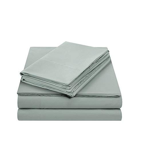 White Comfort Spaces Coolmax Moisture Wicking 4 Piece Set Smart Bed Cooling Sheets for Night Sweats Queen