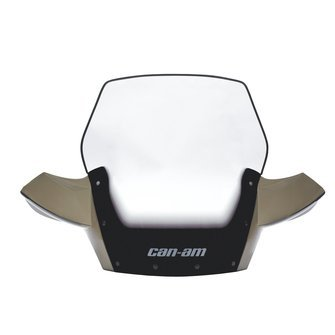 CAN-AM CARE 715001020 Tinted Black ATV Ultra High Windshi...