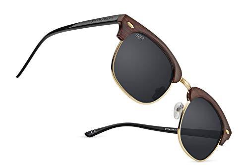 Shady Rays Classics Oakmonts Polarized Semi Rimless Sunglasses for Men and Women - ()