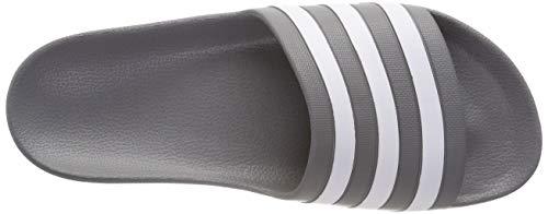 Piscine F17 Three ftwr grey F17 F17 Grey Mixte Chaussures grey Adulte Adilette Grigio Adidas Aqua Plage amp; De White wOYn7Z