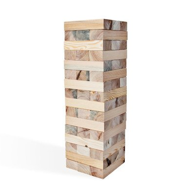 48 Piece Giant Block Tower Game Set by LumberStak
