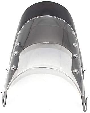 Seasaleshop R/églable de Pare-Brise de Circulation dair pour Moto Universel pour Honda Yamaha Kawasaki Suzuki phares de 5 /à 7 Pouces