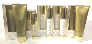 12 packs of Skin Care Treatment Kit by Unique (24-Hour Age Defying Cream, Anti-Age Serum, Eye Cream, Renewing Mask, Cleansing Cream) (Renewing Serum Eye)