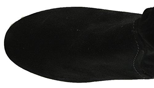 Gabor 92-701 Comfort Shoes - Botines de cuero mujer negro