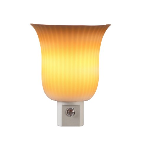 AmerTac 71142 Pleated Sconce Night Light