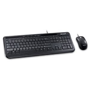 microsoft corporation microsoft wired desktop 600 keyboard and mouse keyboard. Black Bedroom Furniture Sets. Home Design Ideas