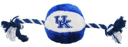 Kentucky Wildcats Basketball Rope Plush Dog Toy, My Pet Supplies