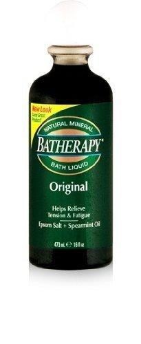 Batherapy Batherapy Natural Mineral Bath Liquid, Original, 16 Ounce (Pack of 3) Batherapy Liquid Natural Mineral Bath