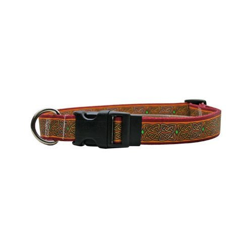 Yellow Dog Design Celtic Dog Collar Fits Neck 14 to 20''/4'' Wide, Medium 3/4'' Wide by Yellow Dog Design