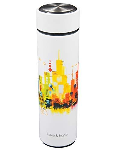 Amazon.com: Ancome - Botella de agua de viaje de acero ...