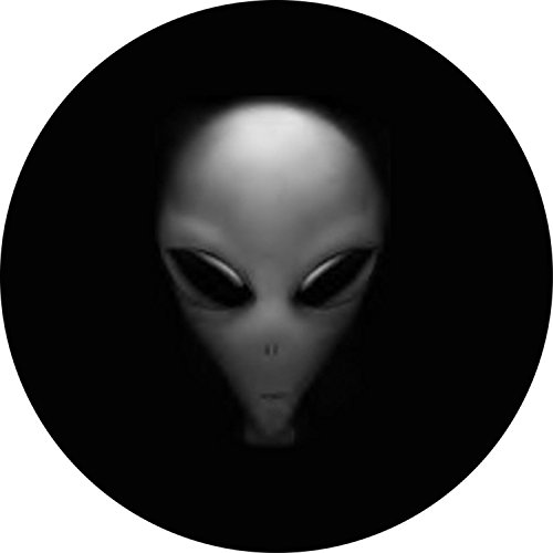 Alien Spare Tire Cover for 205/75R15 Jeep RV and more (Select from popular sizes in drop down menu or contact us-ALL SIZES AVAILABLE) by Tire Cover Central