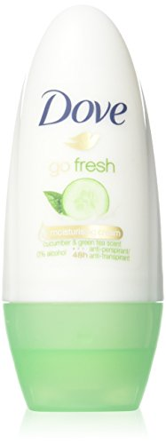 Dove Go Fresh Cucumber Roll-On Anti-Perspirant Deodorant 50ml (PACK OF (Dove Candle)