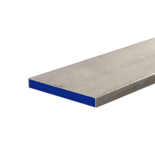 Online Metal Supply 304 Stainless Steel Rectangle Bar, 1-1/4'' x 3'' x 11'' by Online Metal Supply