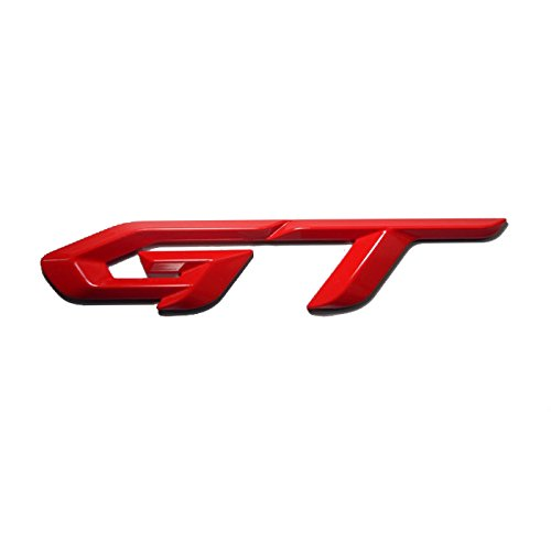 Detailpart Gt 3d Rode Red Type Emblem Sticker for All - Lincoln Rode