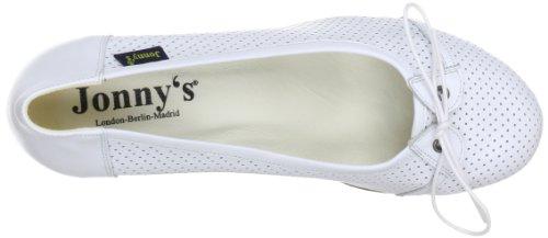 Jonny'S Blanc 7303 Chaussures femme Blanco basses weiss A Xq81wrvxX