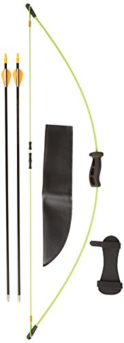 bear-archery-1st-shot-bow-set-flo-green