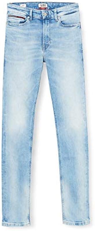 Tommy Jeans Męskie dżinsy Simon Skinny Crtlt Straight: Odzież