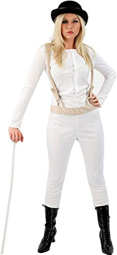 Orion Costumes Womens Clockwork Orange Prisoner Film Halloween Large
