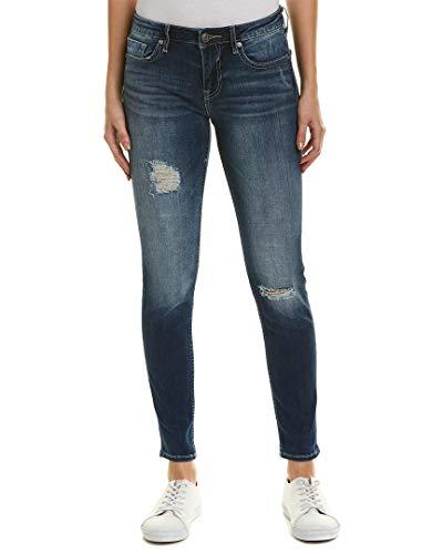 - VIGOSS Womens Thompson Medium Wash Classic Fit Skinny Leg, 24