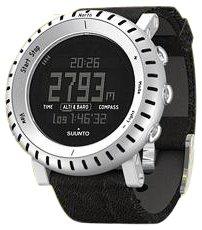 SUUNTO COREL ALU BLACK LEATHER  スント コア 腕時計 SS014280010 海外正規代理店商品   B001G7QVVS