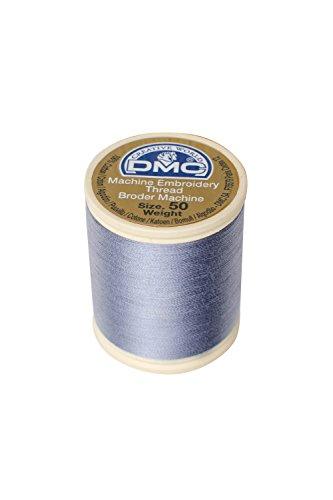 - DMC 237A-50318 Cotton Embroidery Thread 50WT 547Yds Light Steel Grey