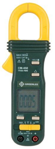 Greenlee CM-450 AC Clamp-on Meter, True RMS