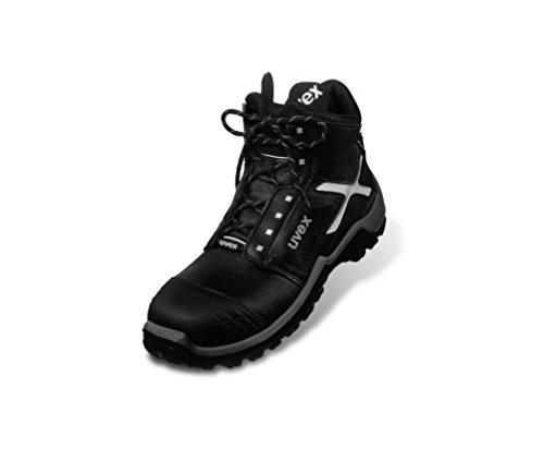 Uvex Sicherheitsschuhe Xenova pro Stiefel 6950 S3 41 Schwarz