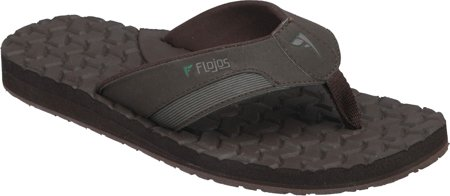 Flojos Mens Logan 2 Marron