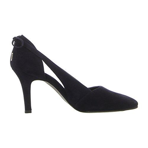 Paul Green 3546-029 - Zapatos de vestir de Piel para mujer Azul