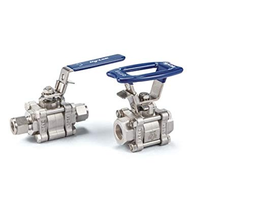 Hy-Lok SO2B3F-8R8R-S316 3-Way Swing Out Switching Ball Valve