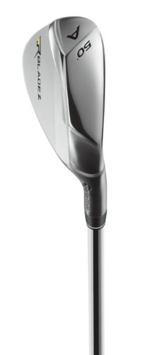 TaylorMade Men's Rocketbladez Individual Iron, Left Hand, Graphite, Stiff, 50 Degree, 3-GW