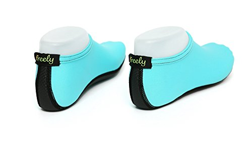 Freely Barefoot Water Skin Shoes Aqua Socks For Beach Swim Surf Yoga Exercise Mint H4OG42Z