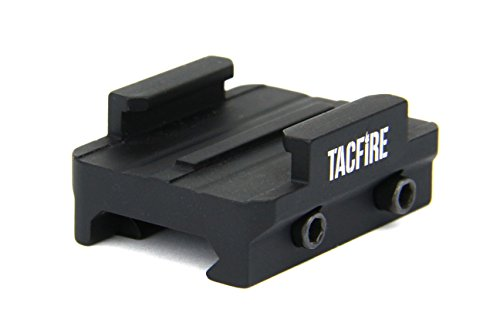 (TacFire Tactical Gun Rail GoPro Camera mount, Picatinny Weaver Compatible)