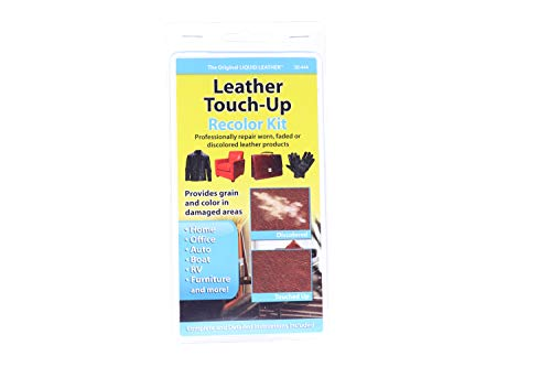 Liquid Leather Touch Up Recolor Kit (Packaging may - Piping Leather Patent