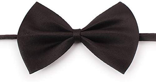 Haobuy Perro Gato Mascota, Corbata de Lazo Ajustable, Color Negro ...
