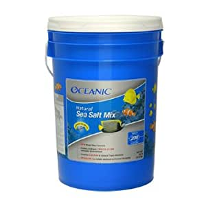 Oceanic 81050 Natural Sea Salt Mix, 200-Gallon Bucket