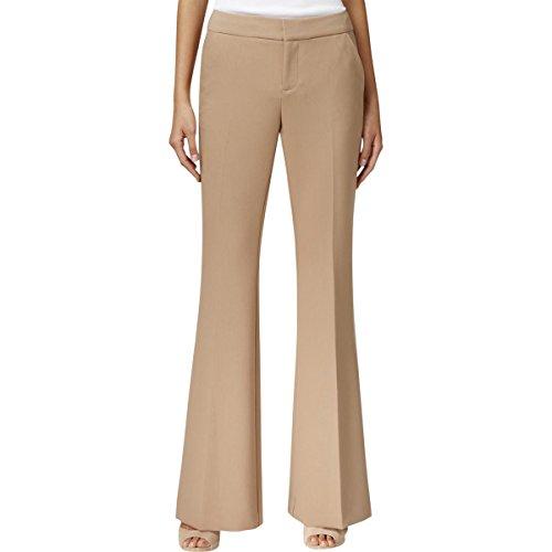 Inc Womens Regular Fit Flare Leg Dress Pants Tan 6 (Inc Dress Pants)