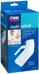 Carex Male Urinal, Pack of 6