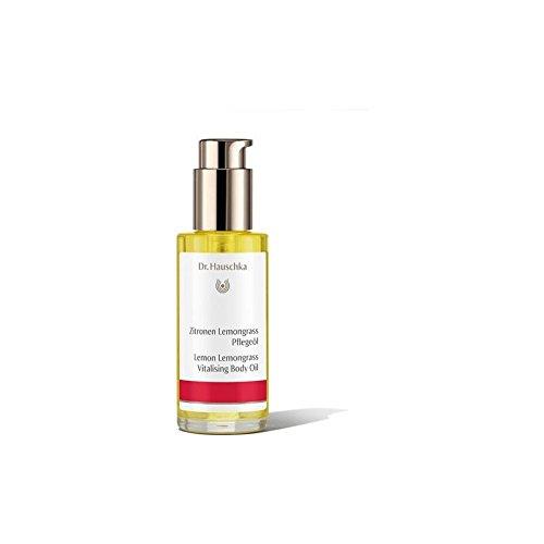 Body Moisturizer Hauschka Lemon - Dr. Hauschka Lemon Lemongrass Vitalising Body Oil (75ml) (Pack of 2)