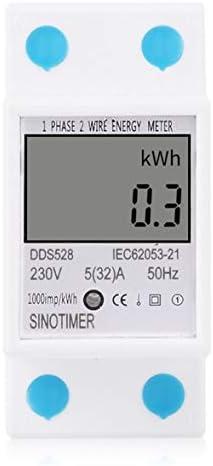 Tivollyff SINOTIMER単相2線式in騒の柵のデジタル電力計の電力消費のワットエネルギーメートルの電気検光子のモニター