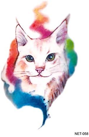 Gato Sin Pelo Tatuado