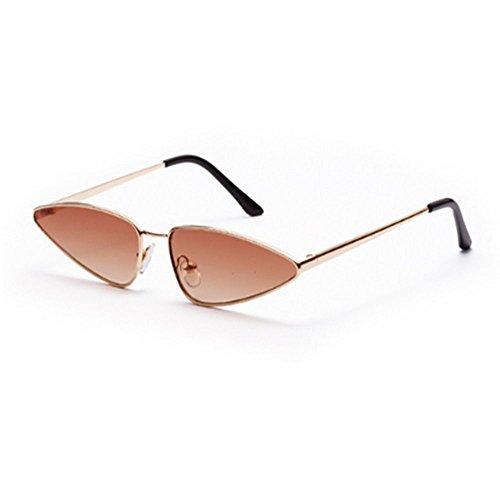 Gafas Clásico Púrpura Retro Estilo 3 Female para Sol Estilo 2 De De Gafas Rosa para Sol Mujer Pequeñas Negro Eye Peekaboo Mujer WANGKEAI Cat Sol De Summer Gafas d7wqIad